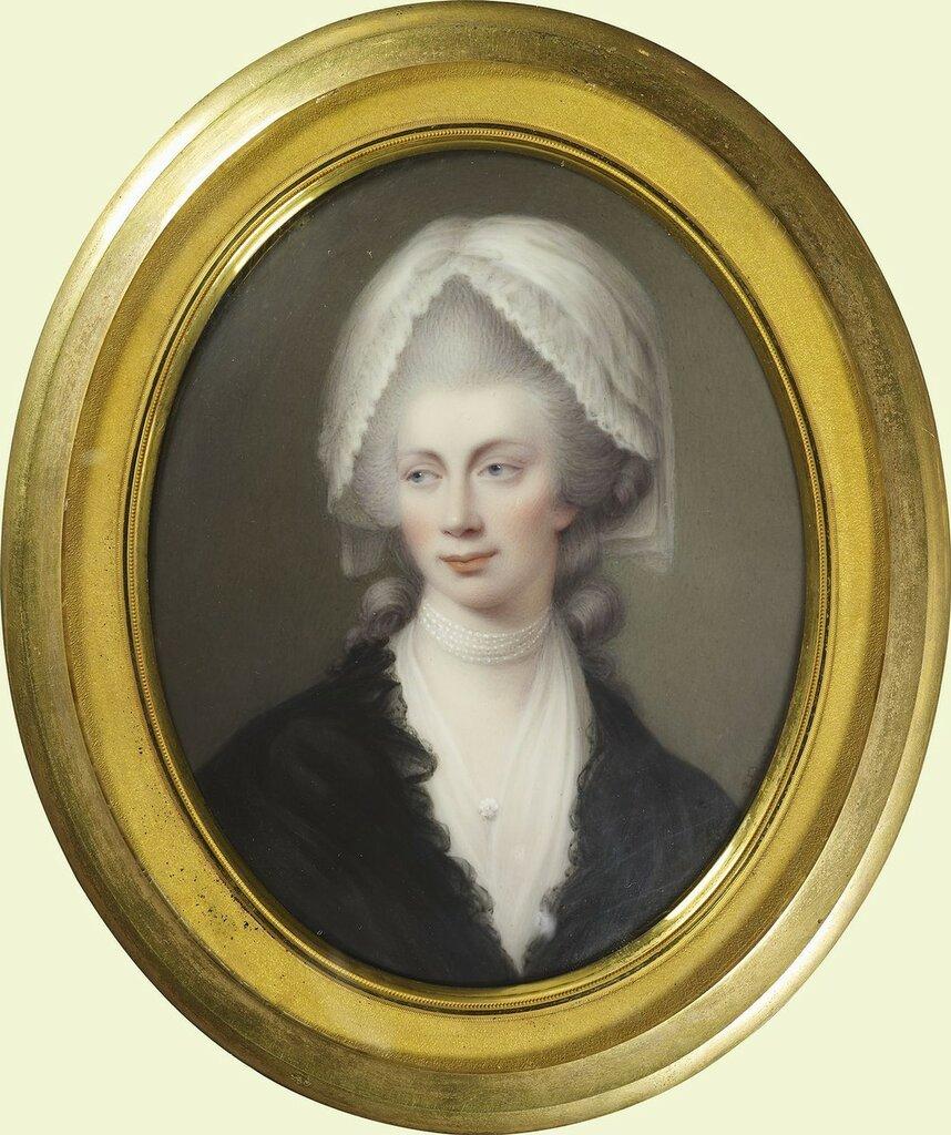 Королева Шарлотта (1744-1818)  Подпись и дата 1804