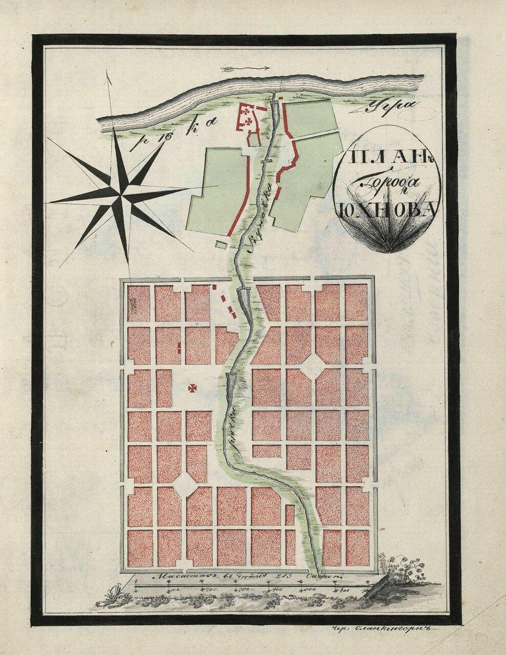 План города Юхнова