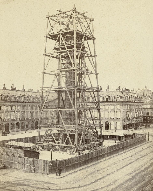 1873. Восстановление Вандомской колонны