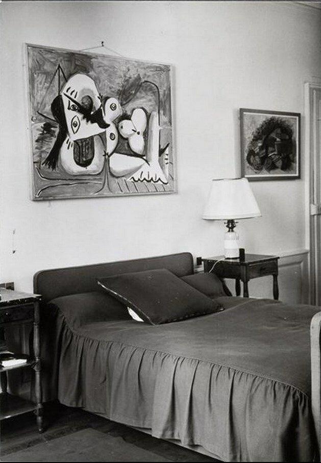 1960. Спальня Канвейлера