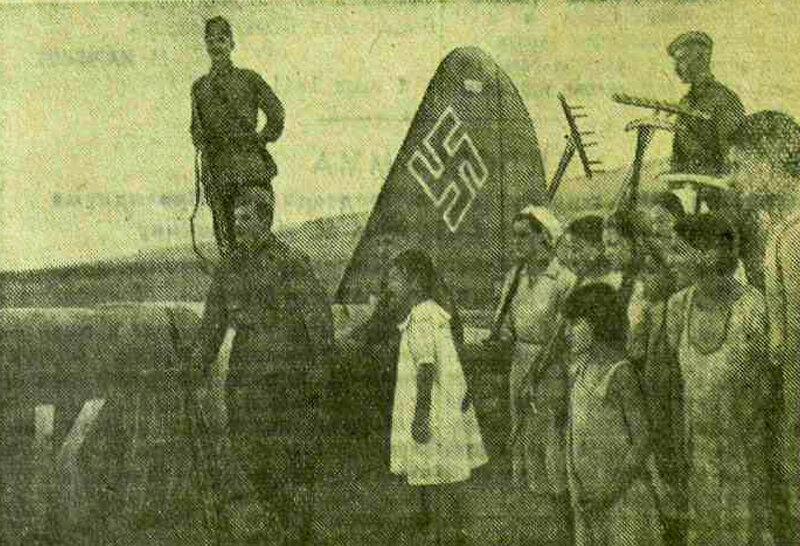 «Красная звезда», 12 июля 1941 года, самолеты фашистской Германии, люфтваффе, авиация войны, авиация Второй мировой войны, фашистские самолеты