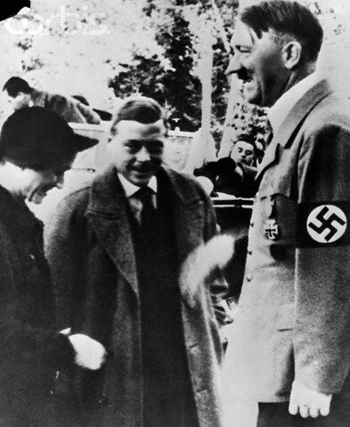 Duke and Duchess of Windsor With Hitler