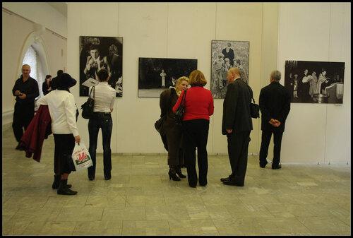 Выставка работ Ильи Глазунова.