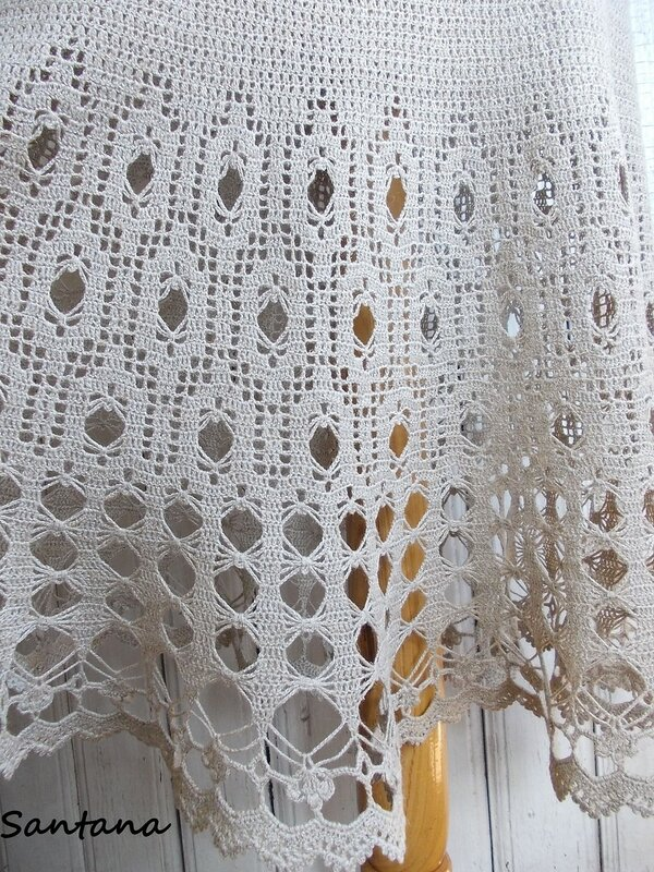 Платье в пол из льна (фрагмент 2)
