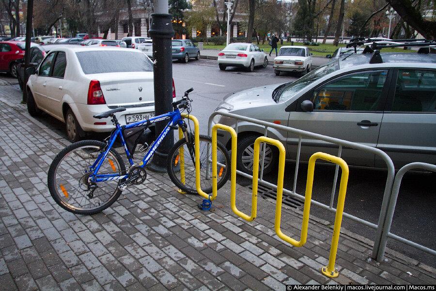 Стоянка для велосипедов своими руками 36