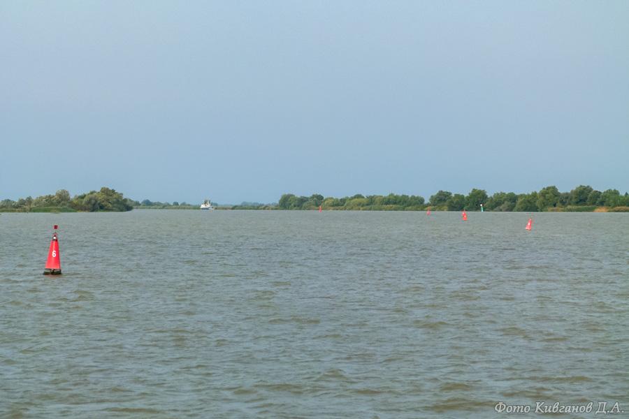 Вход в дельту Дуная из моря