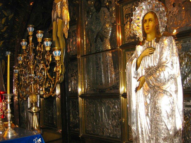 Голгофа - место распятия Иисуса Христа