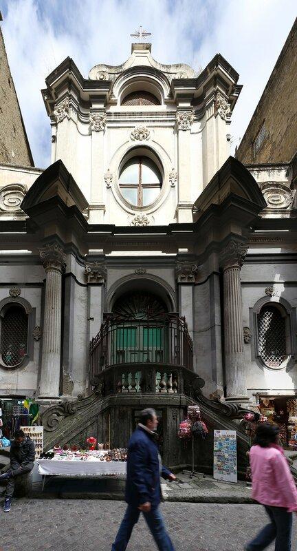 Неаполь. Церковь Сан-Никола-а-Нило (Chiesa di San Nicola a Nilo)