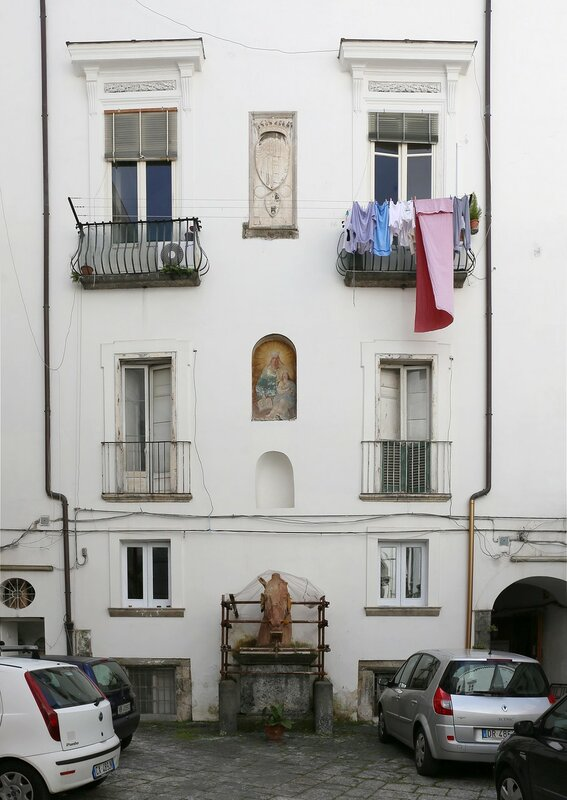 Неаполь. Дворец Диомеде Карафа (Palazzo Diomede Carafa)