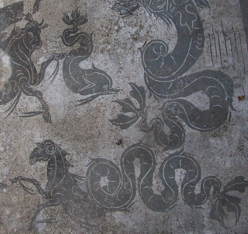 Остия. Мозаика из терм Нептуна
