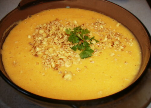 Кремообразный суп
