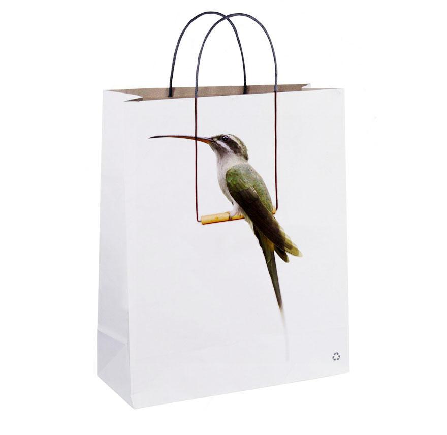 13. Пакет с птичкой.