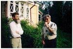В Муранове с праправнуком Ф.И.Тютчева - 2003.jpg