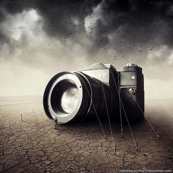 Шедевры фотоманипуляции Саролты Бан (Sarolta Ban)