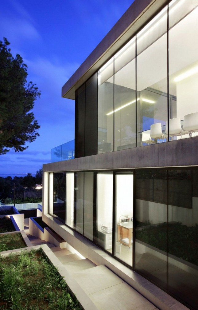 Двухэтажная резиденция на Майорке