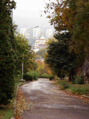 В Пятигорск пришла осень.