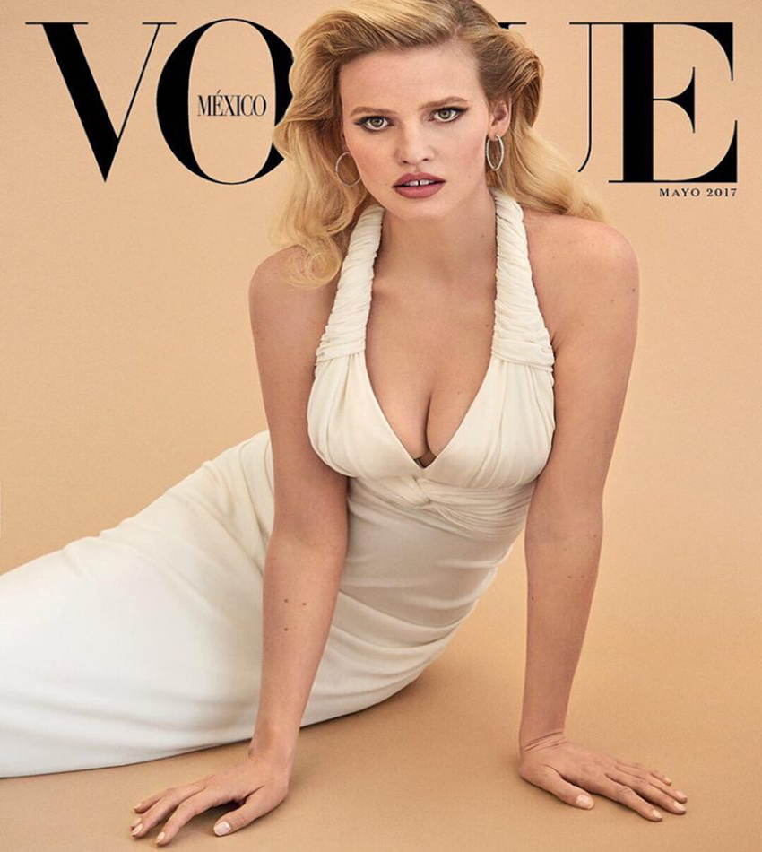 Lara Stone - Vogue Mexico / Latin America (May 2017)