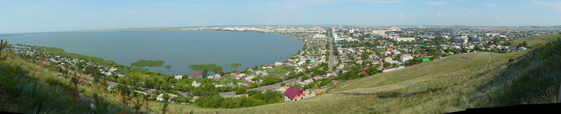 Панорама Кокшетау 29 июля 2008