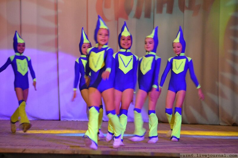 Конкурс детских танцевальных коллектив