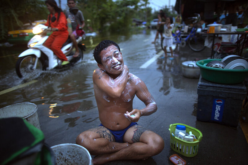 Бангкок под водой