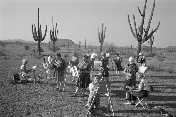 Max Scheler,Arizona 1962.Мастер класс по живописи для состоятельных пенсионеров