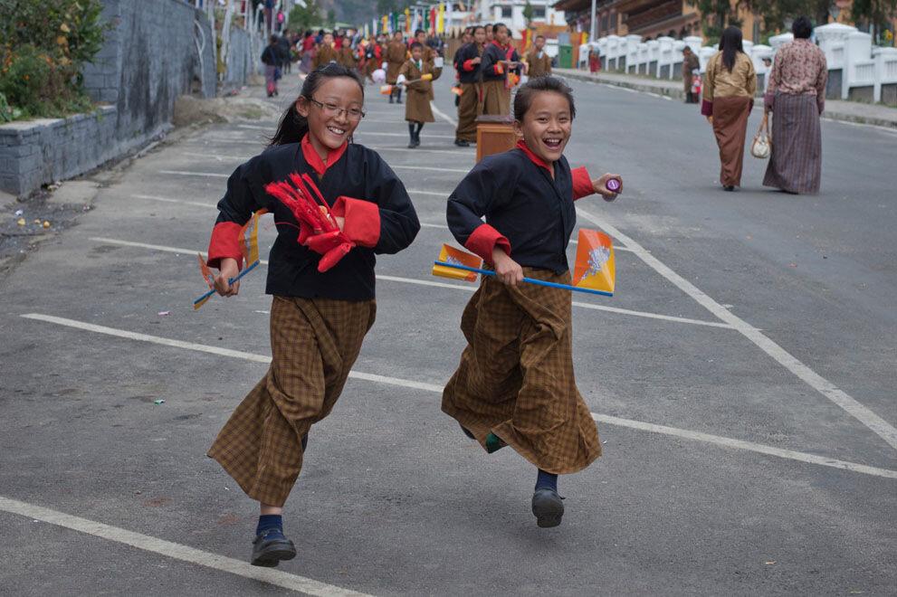 Путешесчтвие в Бутан