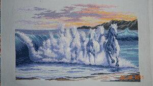 Набор для вышивания крестом The Wave (Волна) Dimensions.