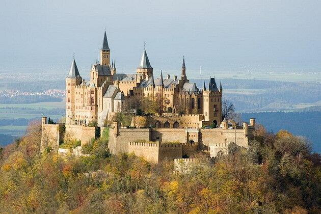 Замок Гогенцоллерн. Германия