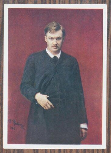 Портрет А.К.Глазунова. 1887 г.