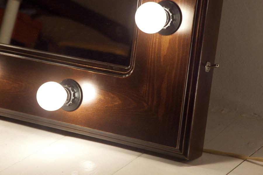 Подсветка для гримерного зеркала своими руками