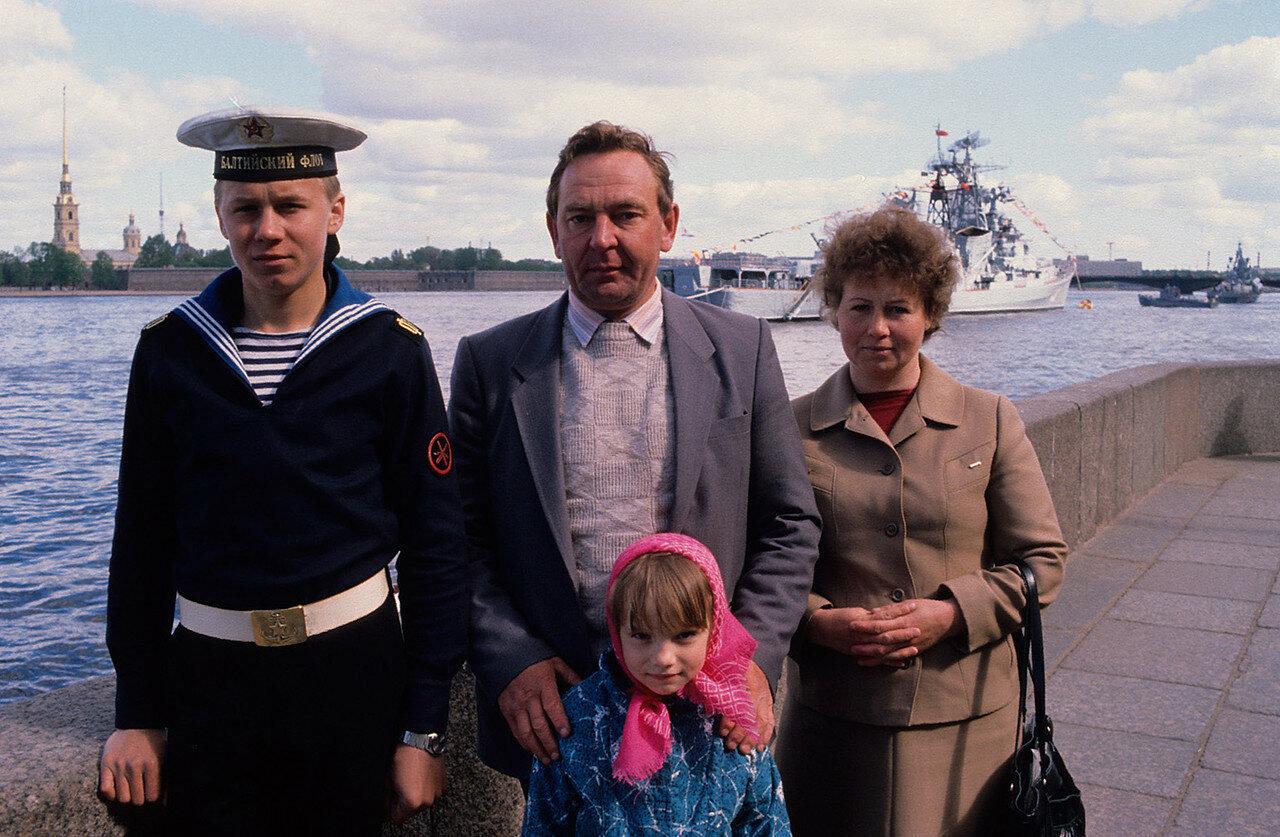 1986. Ленинград