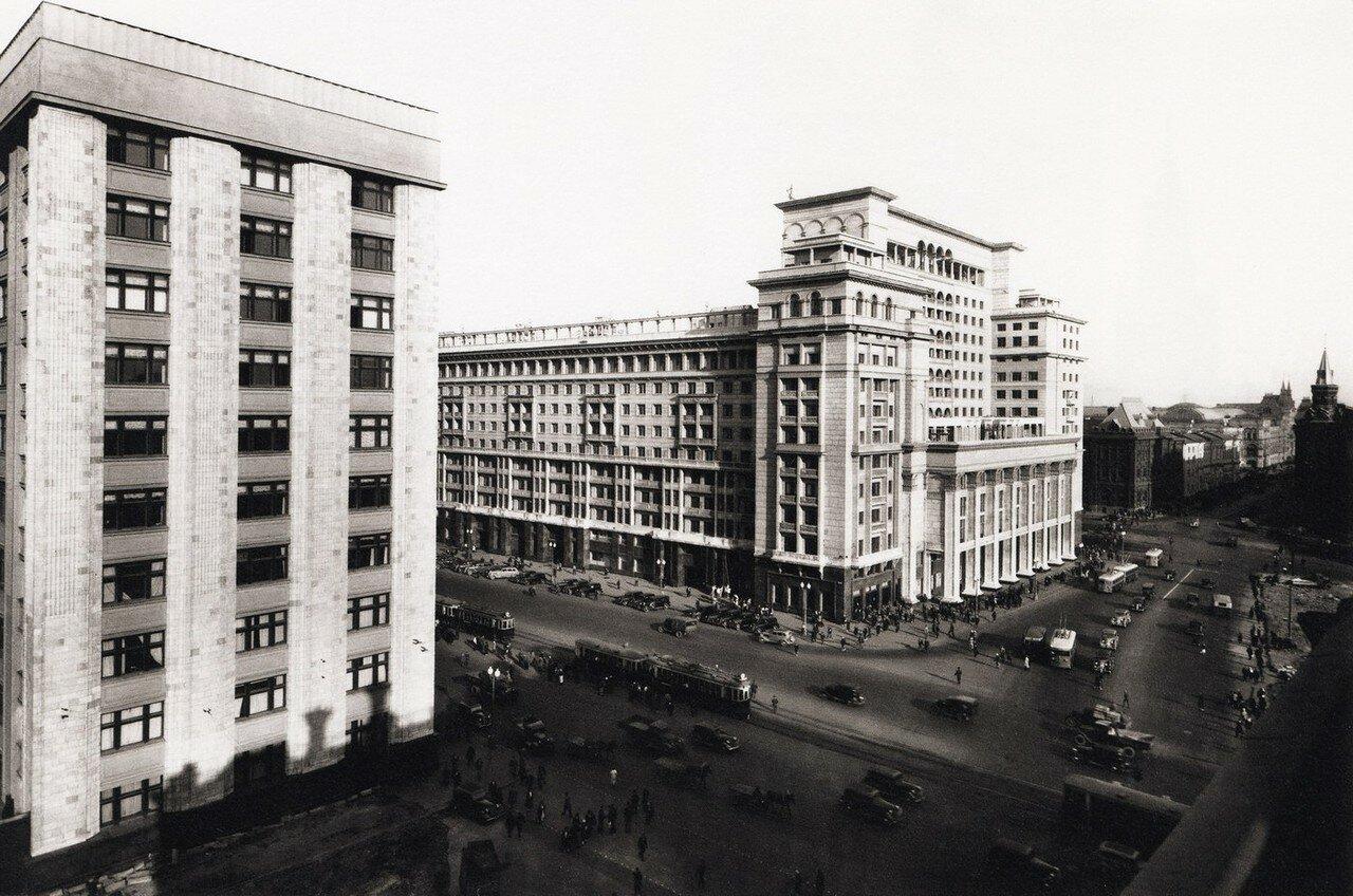 1950-е. Гостиница Москва