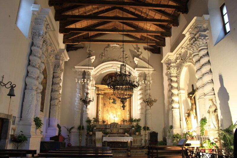 Интерьер церкви Св.Катерины