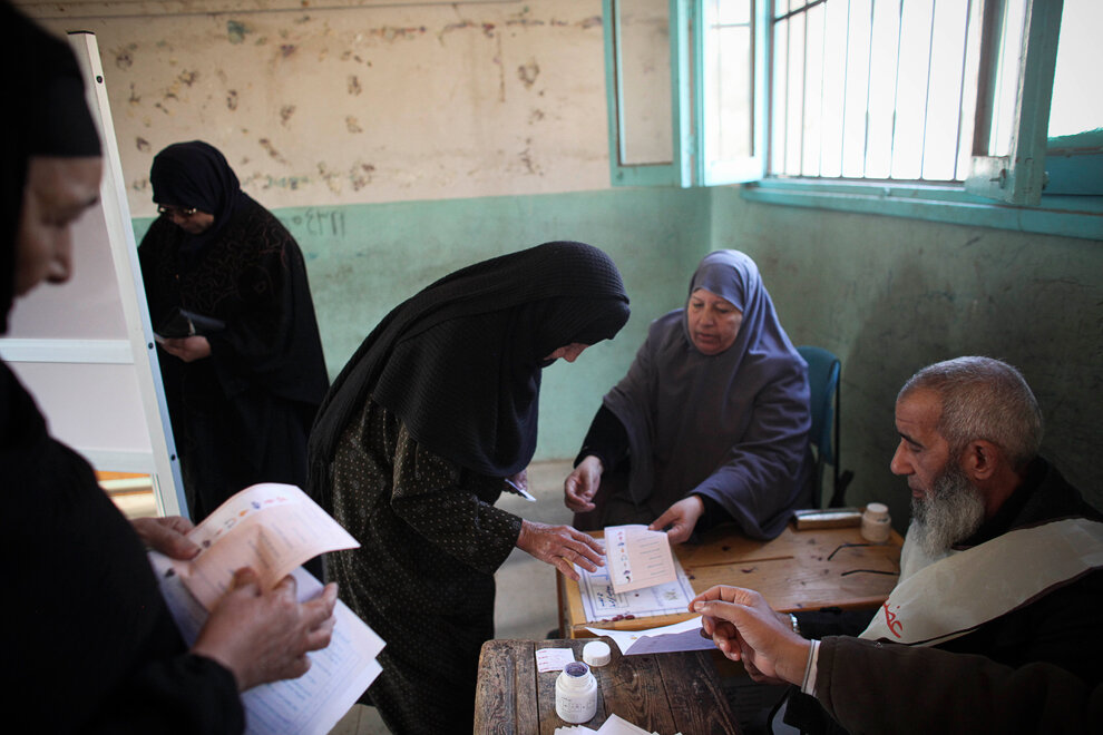 Mideast Egypt Elections