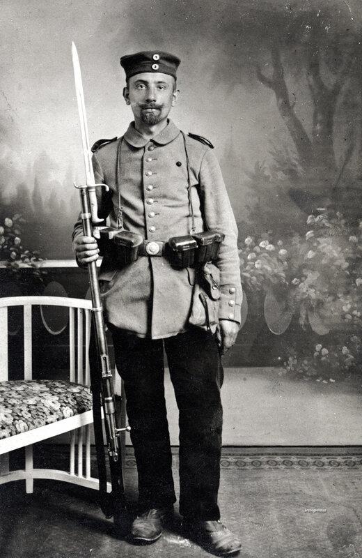 Landwehrmann, Insterburg in East Prussia