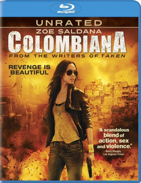 Коломбиана / Colombiana (2011) BDRip 1080p + 720p + DVD5 + HDRip + AVC