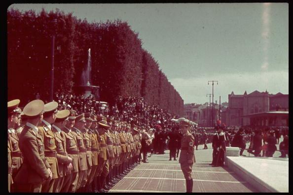 Florence during Hitler's state visit.  (