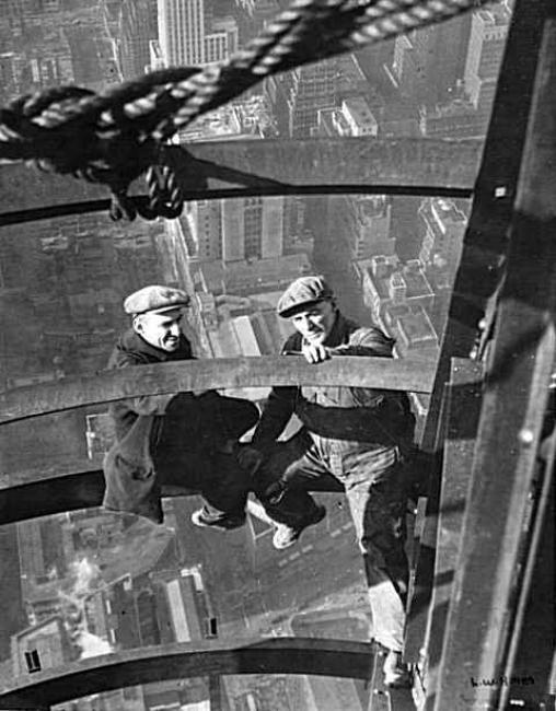 Как строились небоскребы в Нью-Йорке. Я в ахуе... 0_6717f_851bcd4c_orig