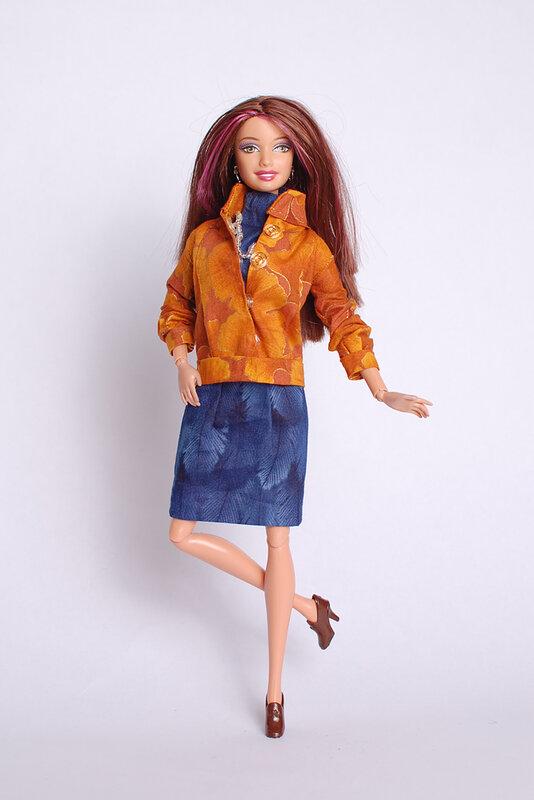 платье с манжетами для барби. платье с манжетами для barbie. куртка для...