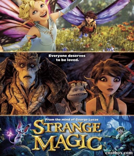 Странная магия / Strange Magic (2015/WEB-DL/WEB-DLRip)