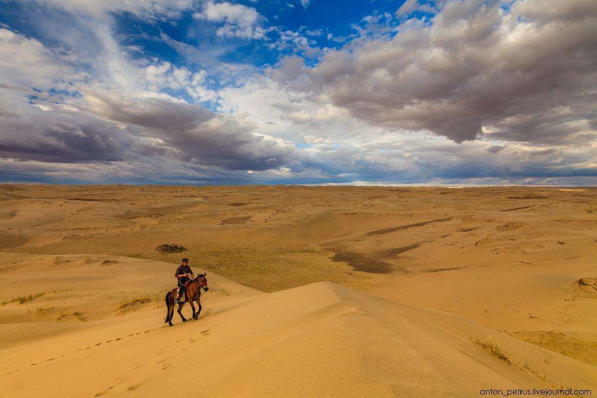 Монголия, пустыня Гоби 2