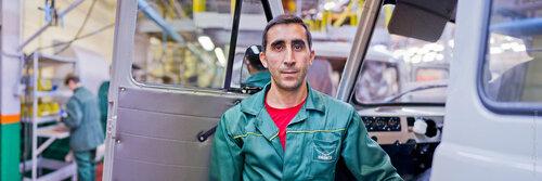Портрет рабочего панорамный портрет