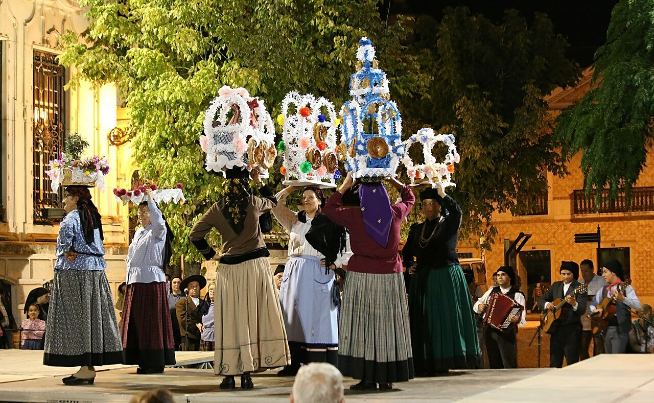 Фольклорный праздник в Лейрии