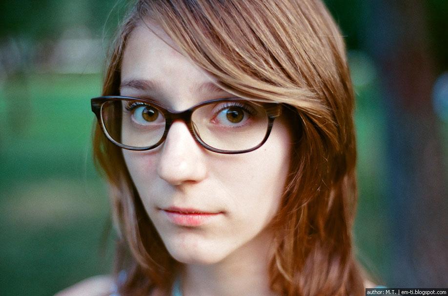 Ксения. Портрет. Фото. Плёнка.
