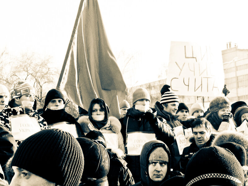 10.12.11_Пикет против фальсификации выборов_Новосибирск