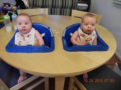 Стол для близнецов