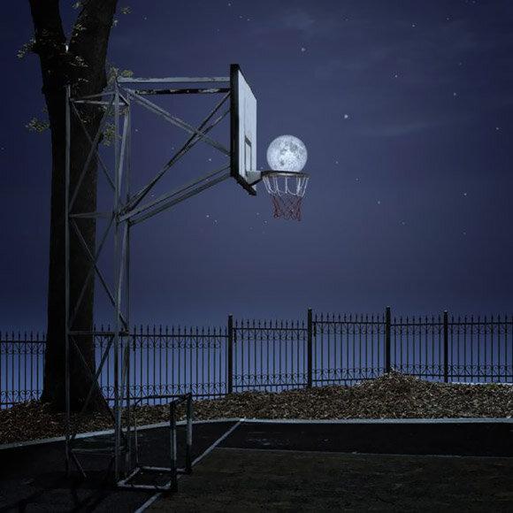 луна баскетбол