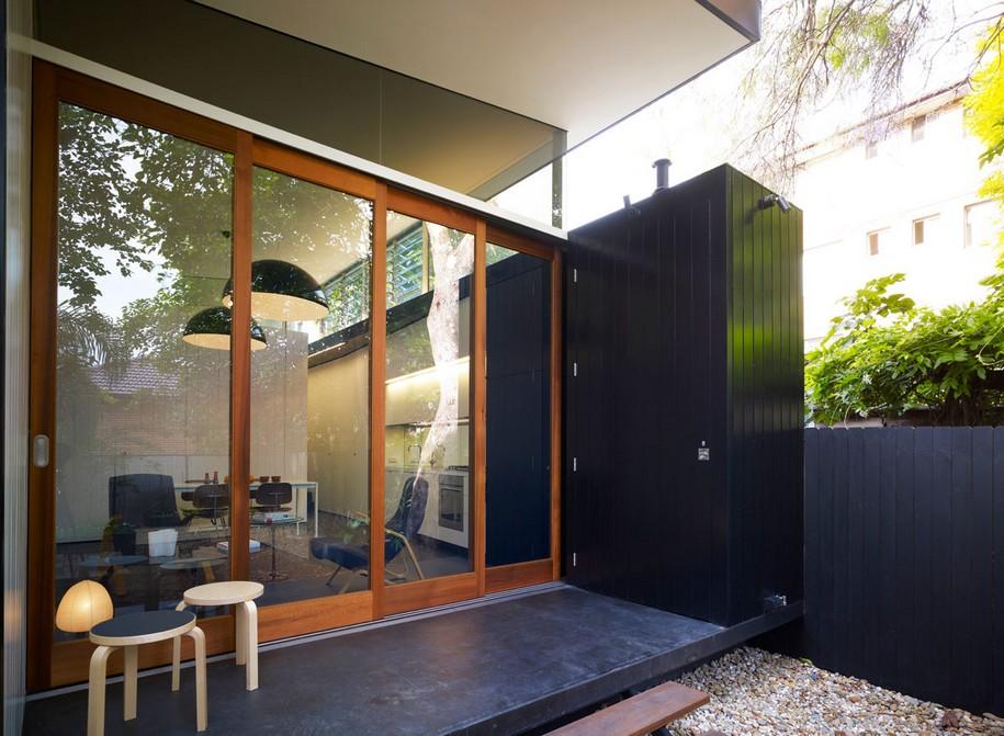 Небольшой и уютный Haines House в Сиднее