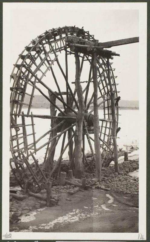 Водяное колесо на Хуанхэ