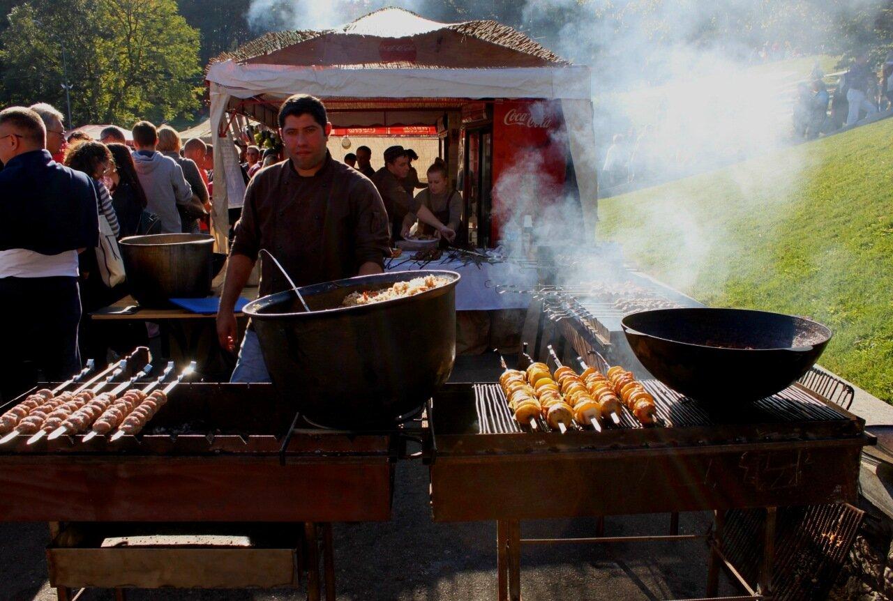 Фестиваль грузинской еды
